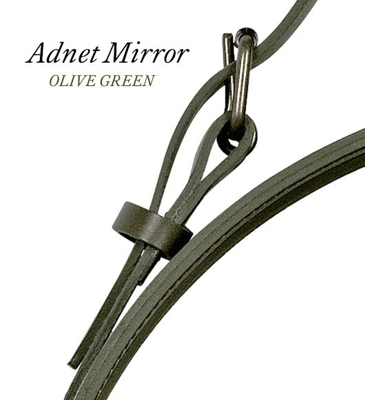 GUBI // Adnet Circulaire mirror - olive green - news 2015