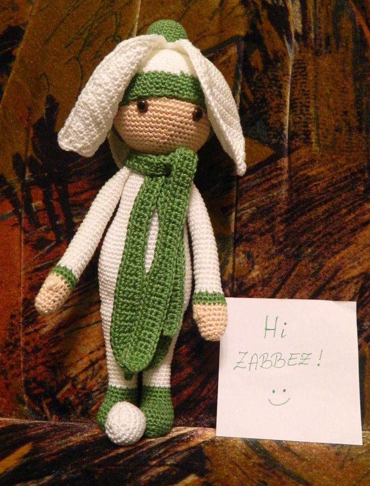 Zabbez Crochet Patterns : Snowdrop Sia flower doll made by Laura O - crochet pattern by Zabbez