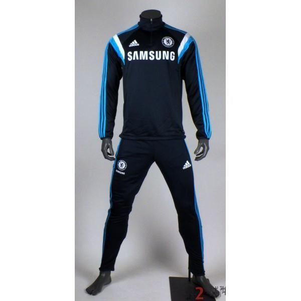 Survêtement Adidas Training Chelsea 2014/2015•100 % polyester•Col...
