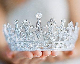 Rose Gold Tiara Crystal Wedding Tiara Leaf Bridal Crown