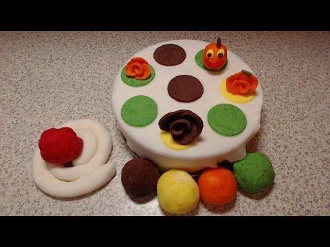 Jak zrobić masę cukrową - lukier plastyczny biały i kolorowy do dekoracji tortów - YouTube
