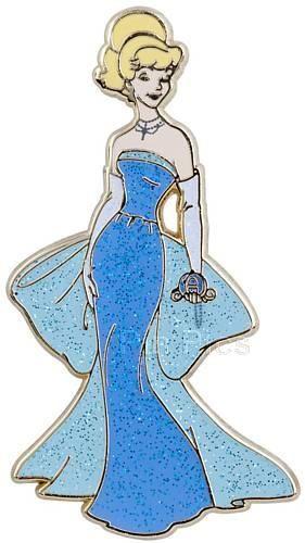 Pin Pics Pin 85998: Disney Store - Disney Princess Designer Collection Set (Cinderella only)