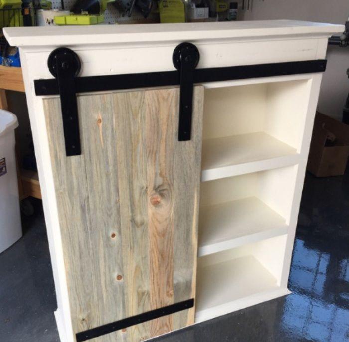 Best 25+ Barn door cabinet ideas on Pinterest   Barn door ...