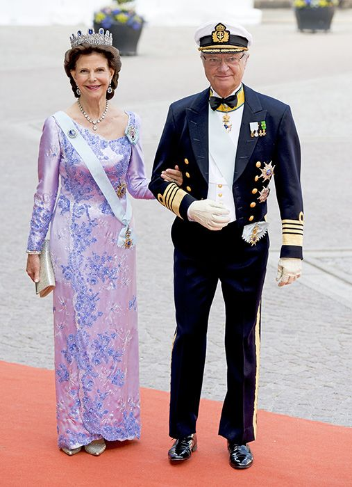 Princess Madeleine and Crown Princess Victoria of Sweden lead the royal guests at Prince Carl Phillip's wedding - Photo 8 | Celebrity news in hellomagazine.com