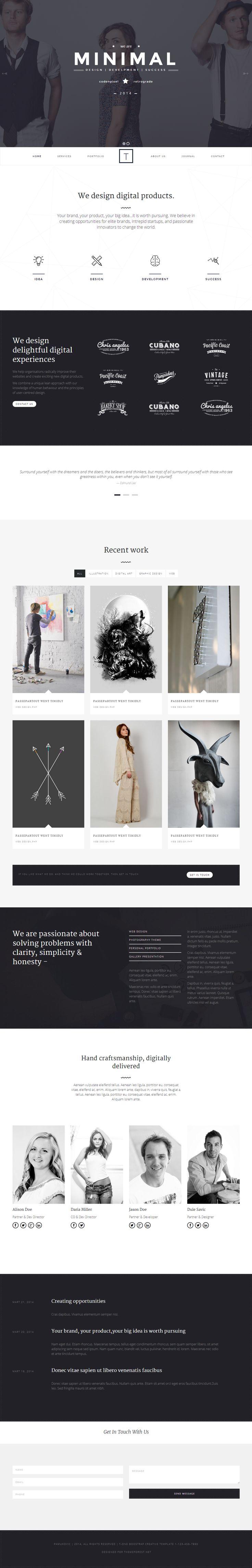220 best Free WordPress Themes images on Pinterest | Wordpress ...