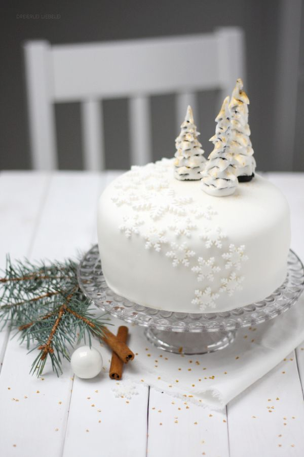 Winter Wonderland (Schoko-Apfel-Zimt-Torte) von http://dreierlei-liebelei.blogspot.de