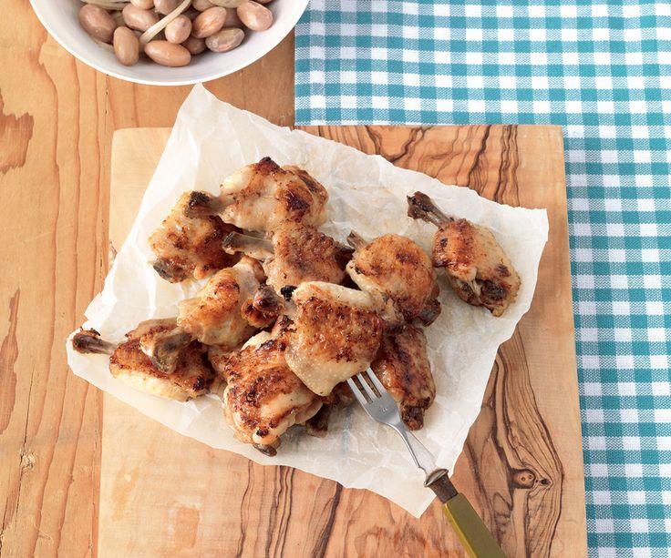 Alette di pollo marinate allo zenzero e miele