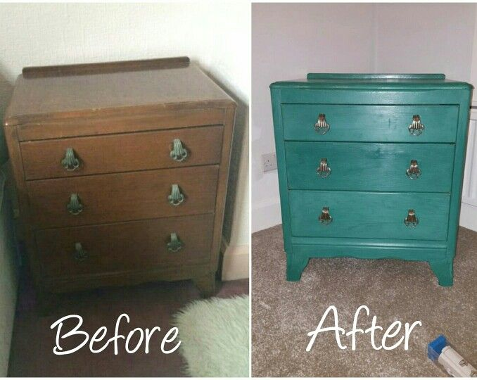 Up cycling my Grandma's piece of furniture in Anne Sloan chalk paint