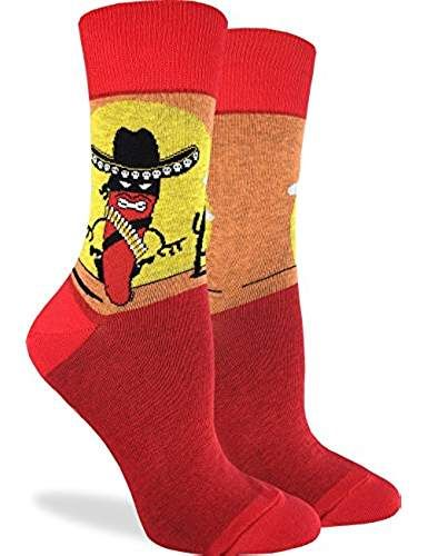 95604c18bf1f Women's Chilli Standoff Socks - Red, Adult Shoe Size 5-9 | Me gusta ...