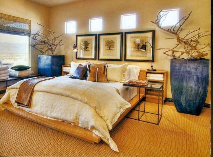 African Bedroom Decor | Beautiful African Bedroom Furniture Photo 19    Simple African .