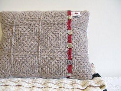inspiración hecha a mano: Cojines de crochet