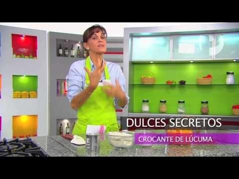 Dulces Secretos - Crocante de Lúcuma - YouTube