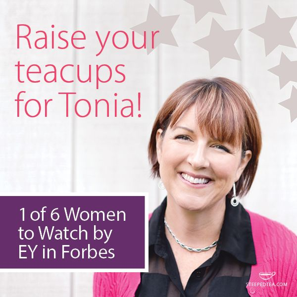 Tonia named 1 of 6 Entrepreneurial Women to Watch in Forbes
