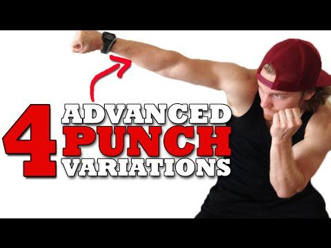 4 Advanced Boxing Punch Variations - YouTube