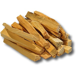 Use palo santo to help cauterize any rips or tears in the energy field or to help clear a space.  It's got a sweet, heavy smell to it and it's got a more heft and power to it than white sage.    Not as easy to burn as white sage, but a little bit does go a long way.      It is often used by shamans in sacred plant spirit ceremonies as well.