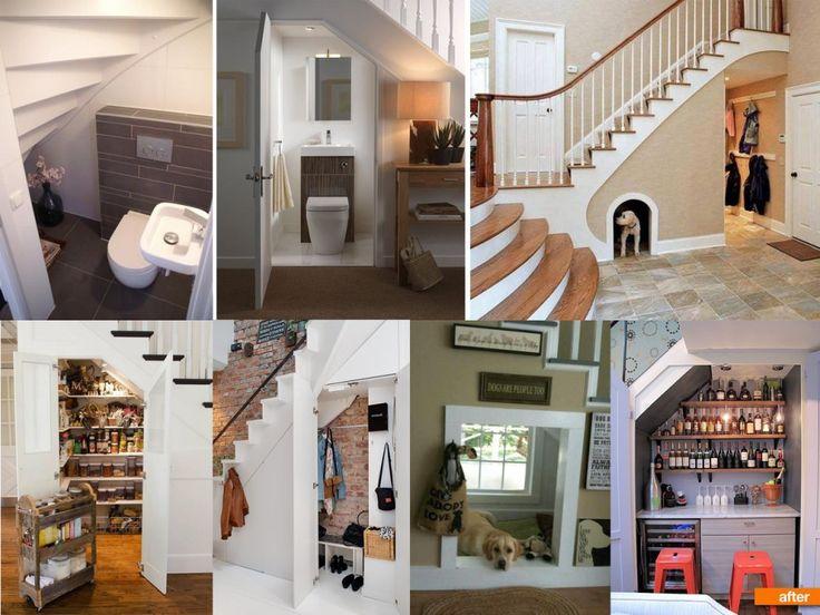 9 ideas de c mo aprovechar espacios debajo de escaleras for Espacio casa catalogo