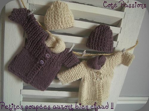Tuto tricot - gilets d'hiver