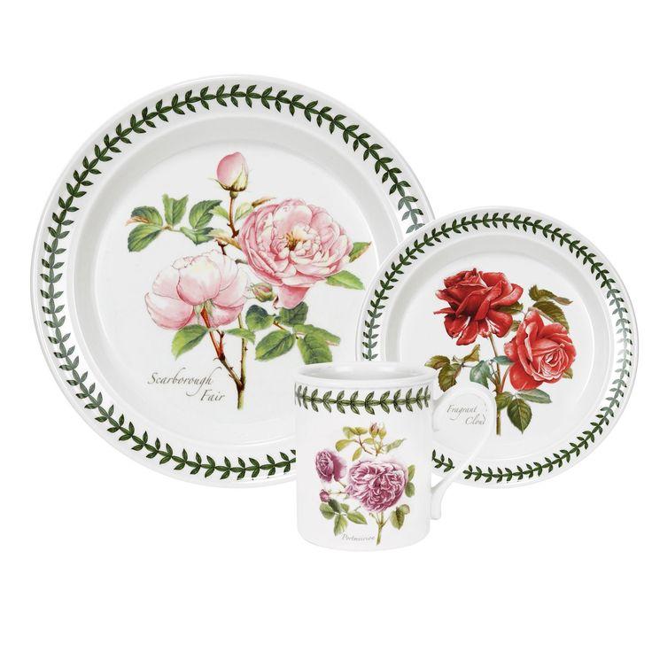 Portmeirion Botanic Rose 18 Piece Set - Botanic Roses - Tableware -Portmeirion UK