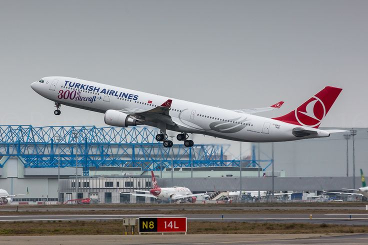 https://flic.kr/p/Dg5bHk | Turkish Airlines A330-303 | Bearing the title 300th Aircraft F-WWCV / TC-LNC / MSN 1696