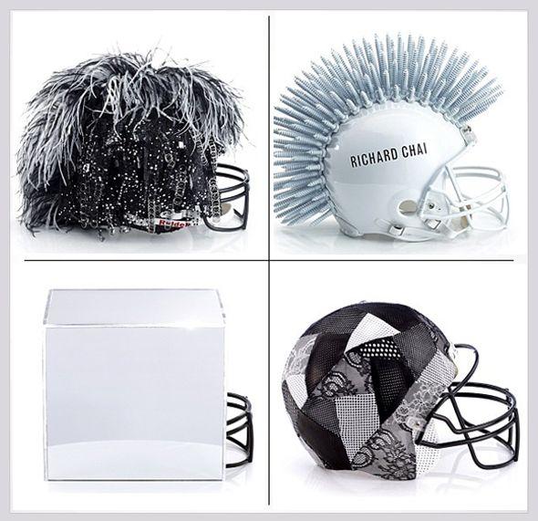 NFL x CFDA x Bloomingdale : 48 Casques de Football Américain Haute Couture (video)