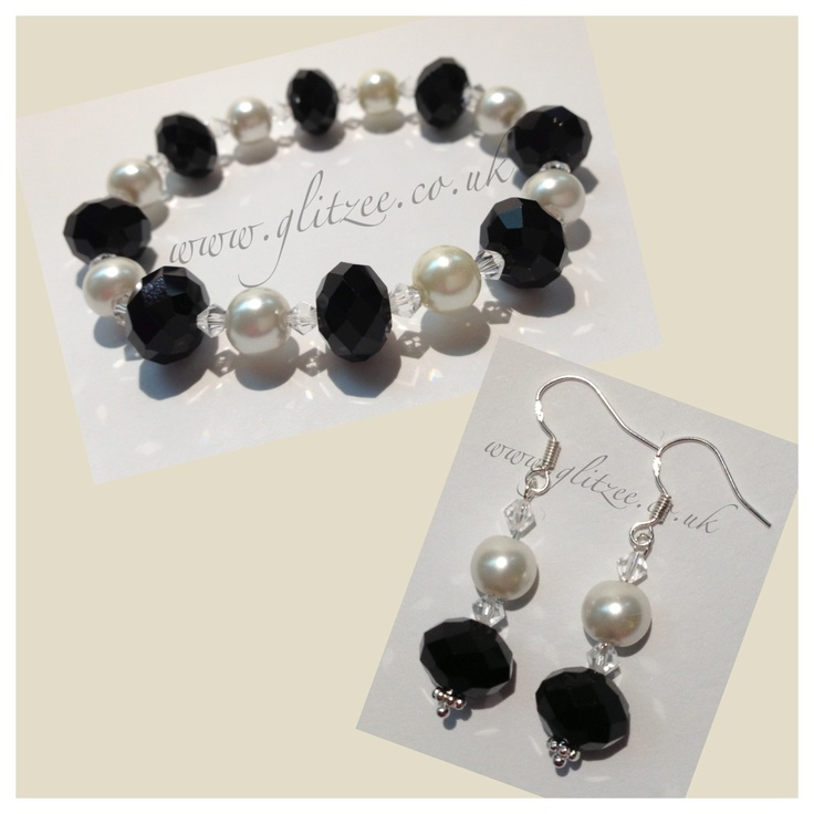 Beautiful pearl and rondelle set.