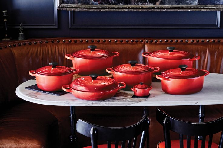 Cast Iron Collection in Cerise