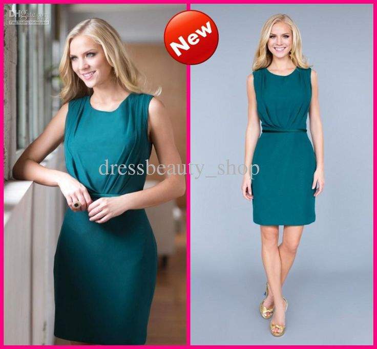 Wholesale Chiffon Short Teal Sash Party Dresses 2013 Custom Made New Arrival Sexy Cocktail Bridesmaid Gowns, Free shipping, $67.44/Piece | DHgate Mobile