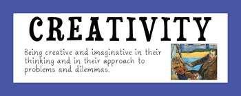 IB Attitude Words with Art Prints. Also Amazing