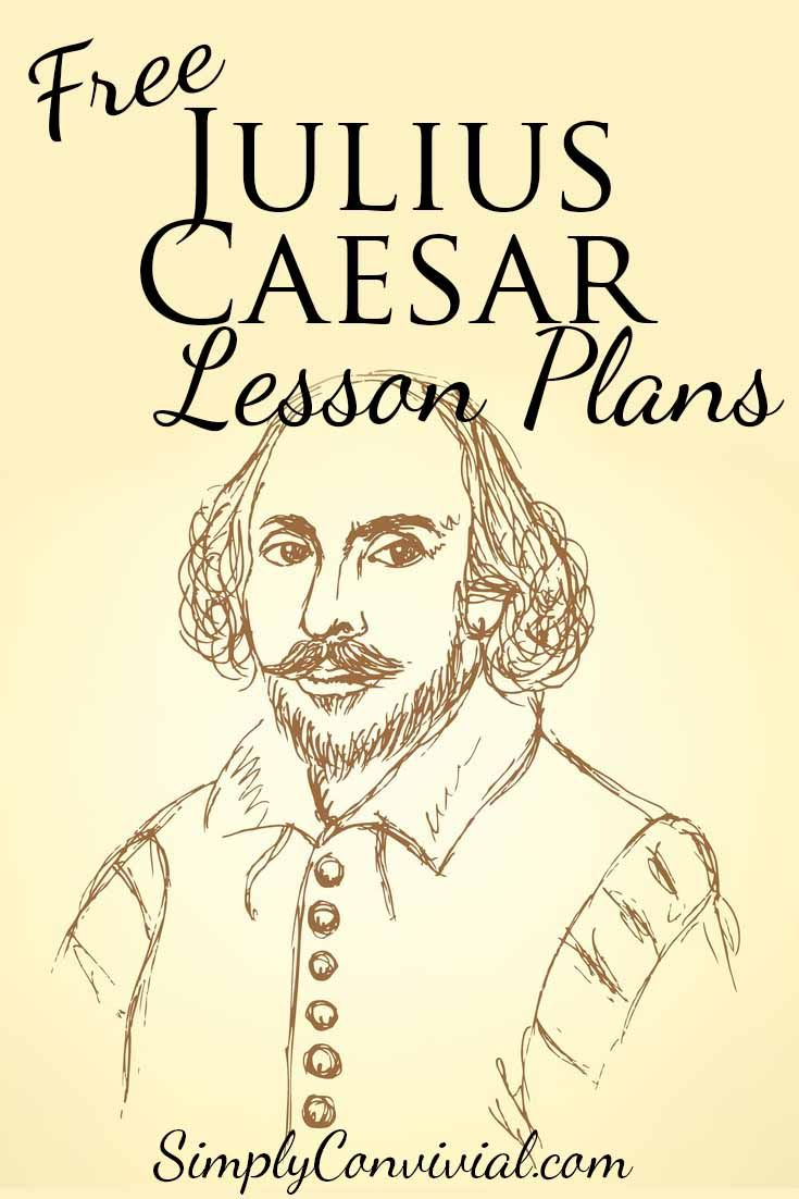 Shakespeare for Kids: Julius Caesar--Free lesson plans to help your children study and learn about the world of Shakespeare!  » Simply Convivial