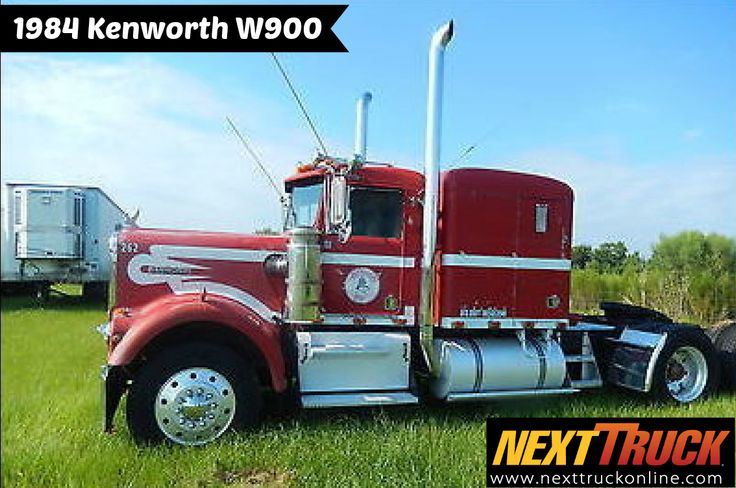 #ThrowbackThursday Check out this 1984 Kenworth W900. View more #Kenworth #Trucks at http://www.nexttruckonline.com/trucks-for-sale/by-make/Kenworth #Trucking #NextTruck #tbt