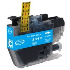 Brother LC-3319XLC Cyan Compatible Ink Cartridge  For use with Brother MFC J5330DW, Brother MFC J5730DW, Brother MFC J6530DW, Brother MFC J6730DW, Brother MFC J6930DW inkjet printers.