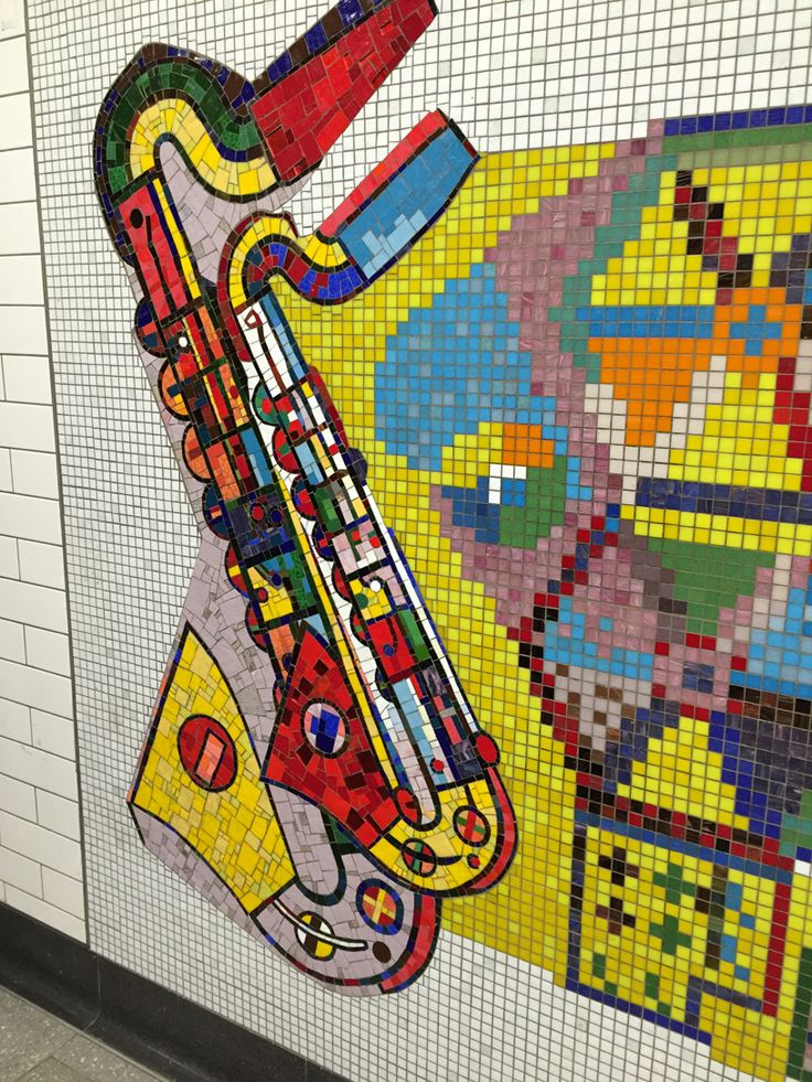 Tottenham Court Road Underground Station  Paolozzi Mosaics remade for station extension