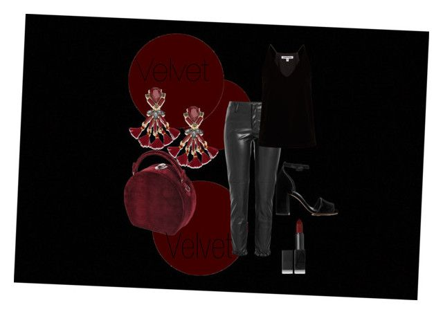 """Velvet"" by emmamashilo on Polyvore featuring Whistles, Bertoni, Philosophy di Lorenzo Serafini, Elizabeth and James, NARS Cosmetics and INC International Concepts"