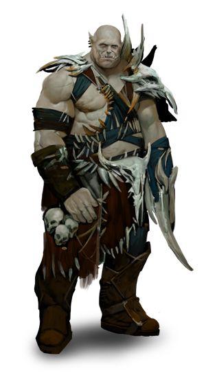 Pantheon: Rise of the Fallen - Races - Ogres