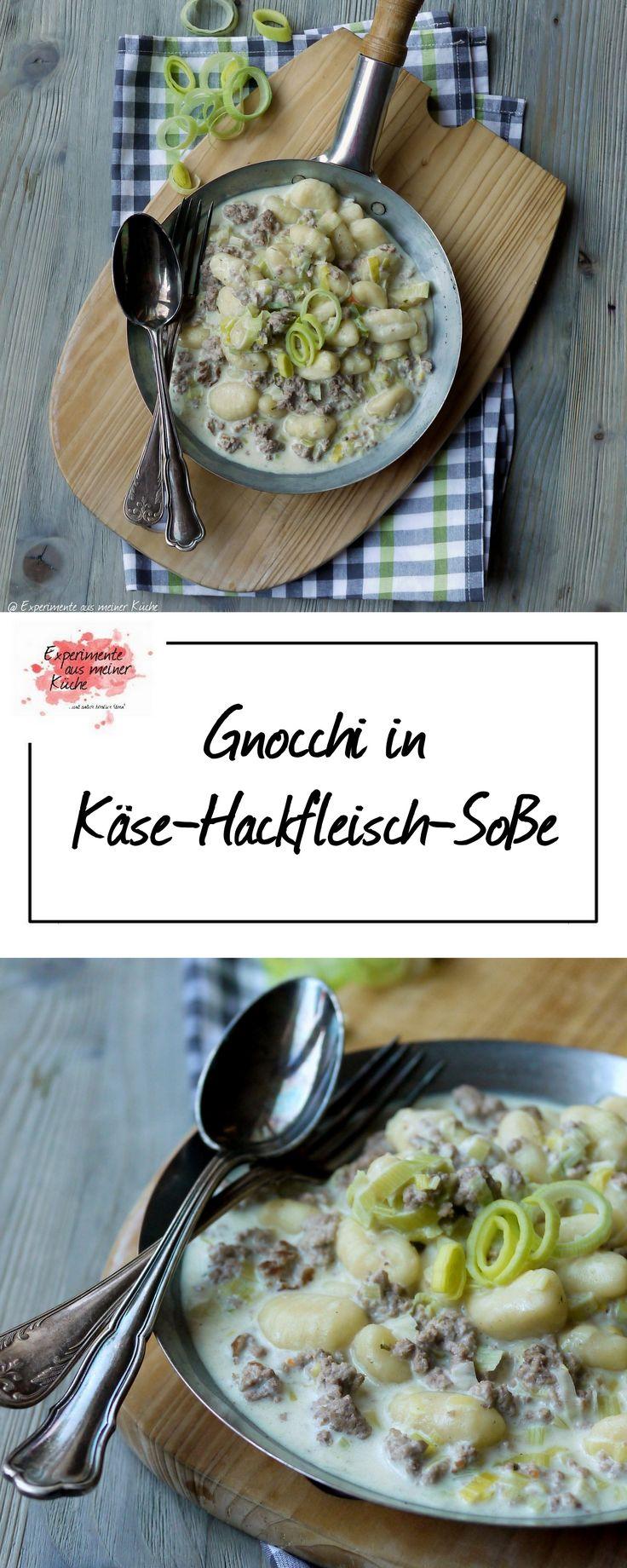 Gnocchi in Käse-Hackfleisch-Soße | Rezept | Kochen | Essen