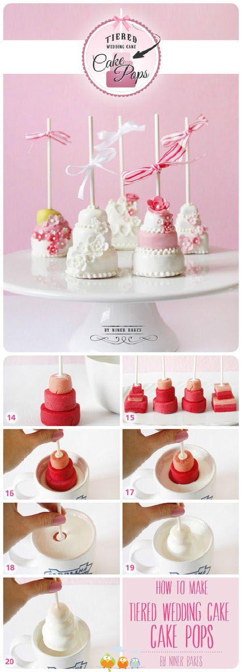 Cómo hacer mini cakes ✿⊱╮
