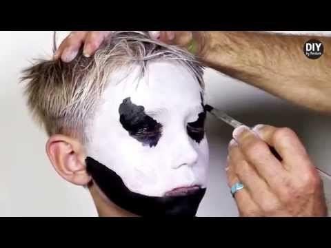 Halloween: hoe schmink je een kind als skelet? - Zappy.be
