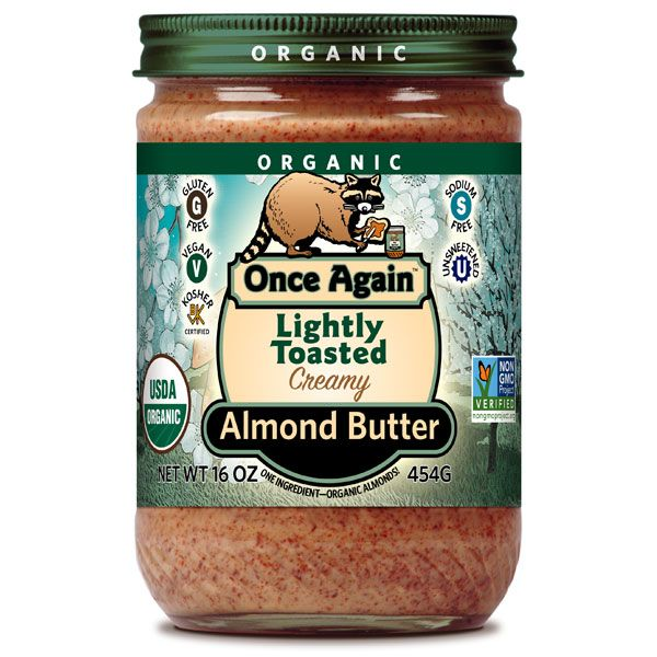 Nuts.com - Organic Almond Butter (Lightly Toasted, Smooth)