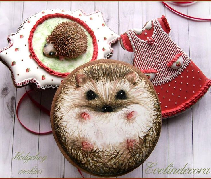 Hedgehog Cookies | Cookie Connection