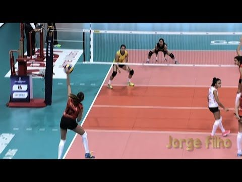Basic Volleyball Rules of Serving A Volleyball - Jorge Filho's Top ten Best Most Powerful Serves