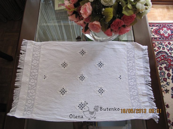 white work (Poltava region, Ukraine) embroidery for my mom