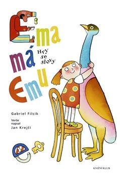Obálka titulu Ema má Emu