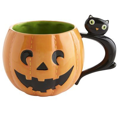 Love this Jack-o-Lantern Mug - so cute!