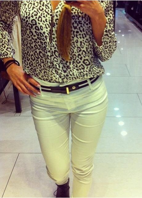 Amazing Outfit with animal print