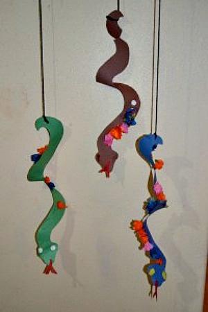Animal Alphabet Craft For Kids. Snakes. Alphabet Letter S is for Snake!