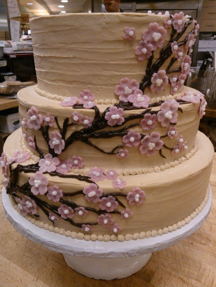 Marzipan Cherry Blossom Branch
