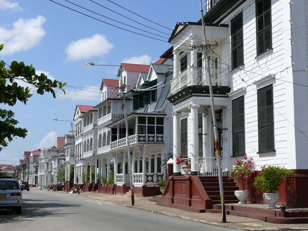 Historic city of Paramaribo, Suriname