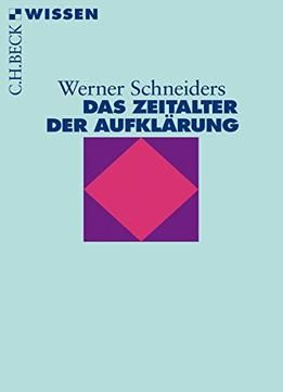 Das Zeitalter Der AufklÃrung 5. Auflage