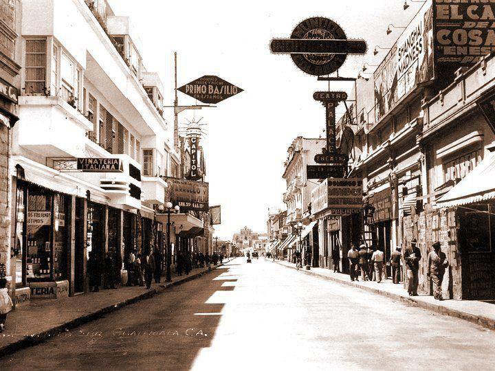Sexta avenida Guatemala en el año 1940 | GUATEMALA DE ...
