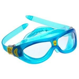 :): Transluc Blue, Swimming Goggles, Sphere Seals, Aqua Sphere, Masks Kids, Kids Swimming, Kids Clear, Clear Lens, Seals Kids